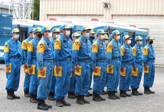 県警察の紹介-機動隊-広域緊急援助隊